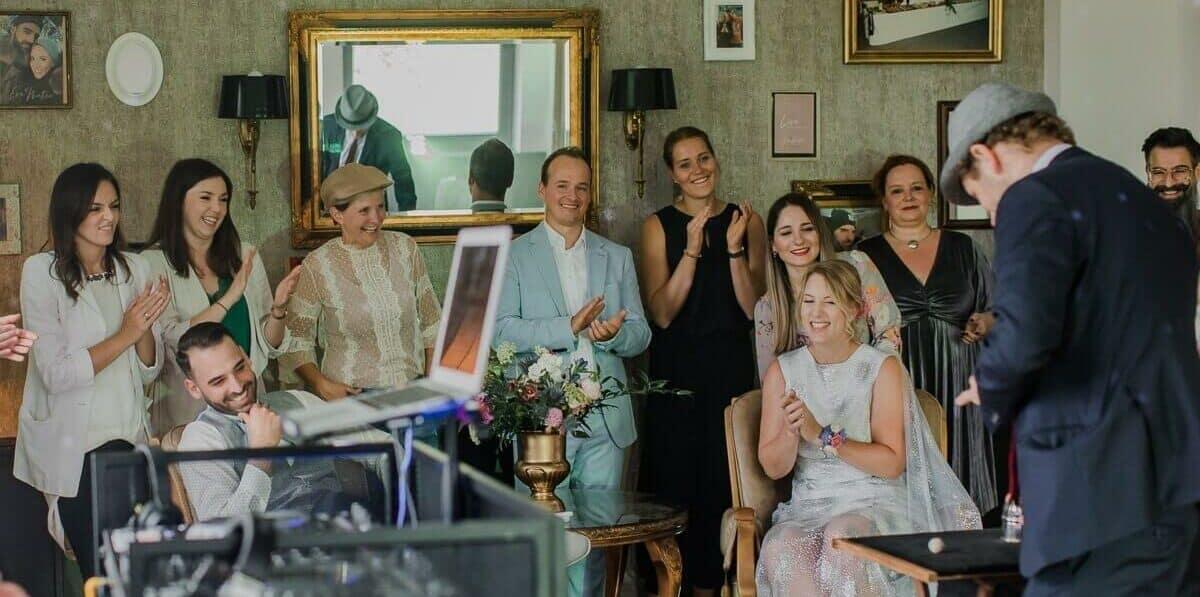 Hochzeitsgäste sind begeistert von Jan Philip Wiepen